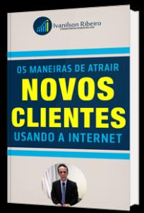 E-book 5 Maneiras de Atrair Novos Clientes usando a Internet