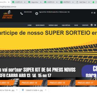 Site Shopping dos Pneus