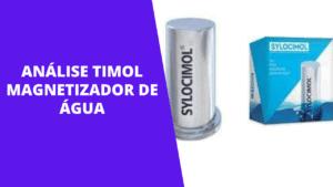 ANÁLISE TIMOL MAGNETIZADOR DE ÁGUA